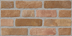 Piatra Decorativa Kanizsa Brick Interior/Exterior  Red Brick 25x50 cm